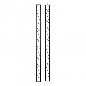 ファクトリーアウトレット 奥行連結可能なデザインアーチ連結部 ゲートアーチ 連結部165型 35361 新作多数