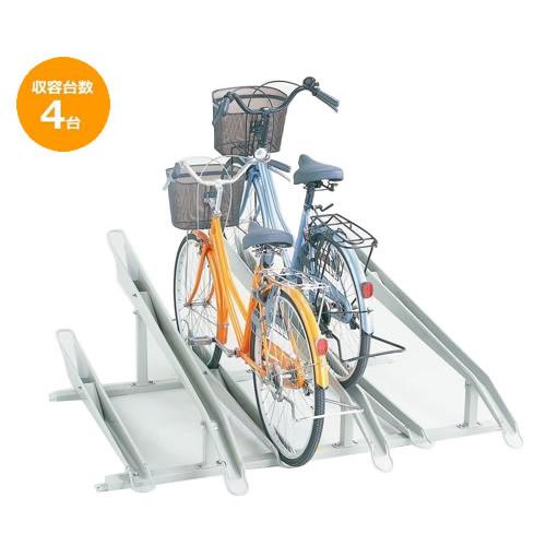 <title>デザイン性 AL完売しました。 操作性を重視した自転車ラック ダイケン 自転車ラック サイクルスタンド KS-C284 4台用</title>