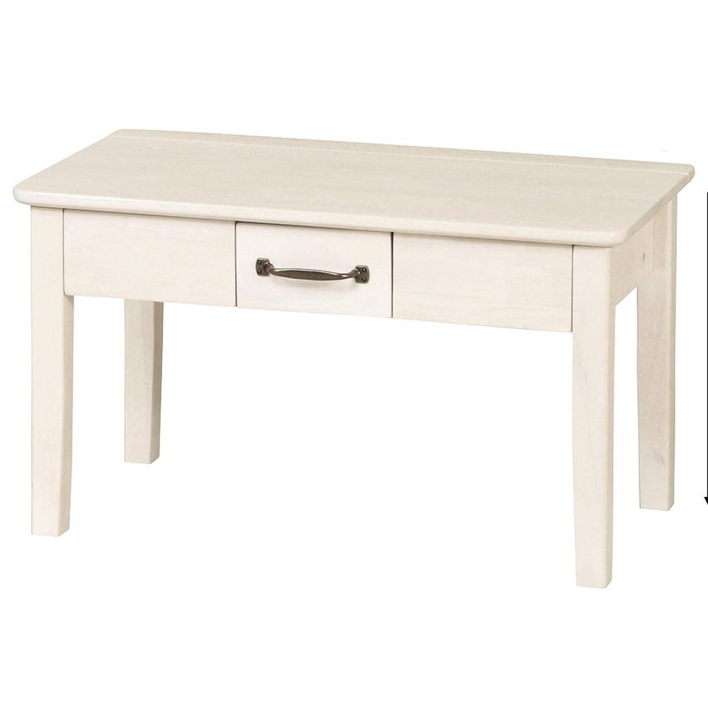 ミニヨン ドレッサーテーブル 収納付き 鏡付き 化粧台 ホワイトウォッシュ