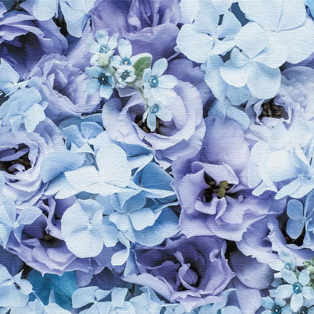 竹内陽子 壁掛けアート インテリア 雑貨 アート 花 写真 yt-300-blue-009 100cm × 100cm