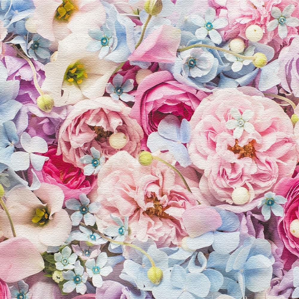 竹内陽子 壁掛けアート インテリア 雑貨 アート 花 写真 yt-300-pink-011 100cm × 100cm