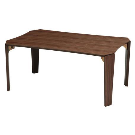 グレインテーブル BR(ブラウン)折りたたみテーブル