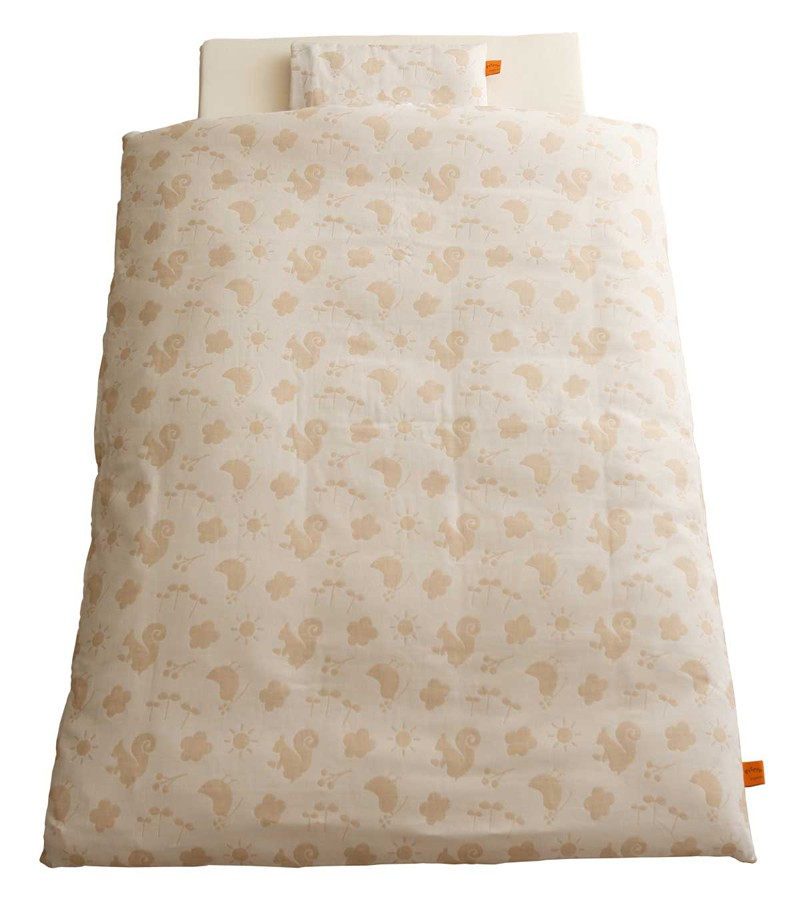 baby.e-sleep(ベビーイースリープ) プリエール コパン ベビーふとん12点セット(オーガニックコットンダブルガーゼ)