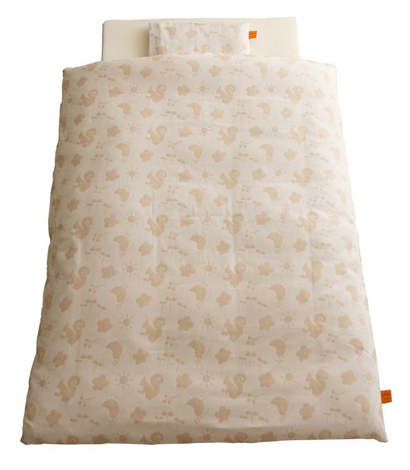 baby.e-sleep(ベビーイースリープ) プリエール コパン ロイヤル ベビーふとん7点セット(オーガニックコットンダブルガーゼ)