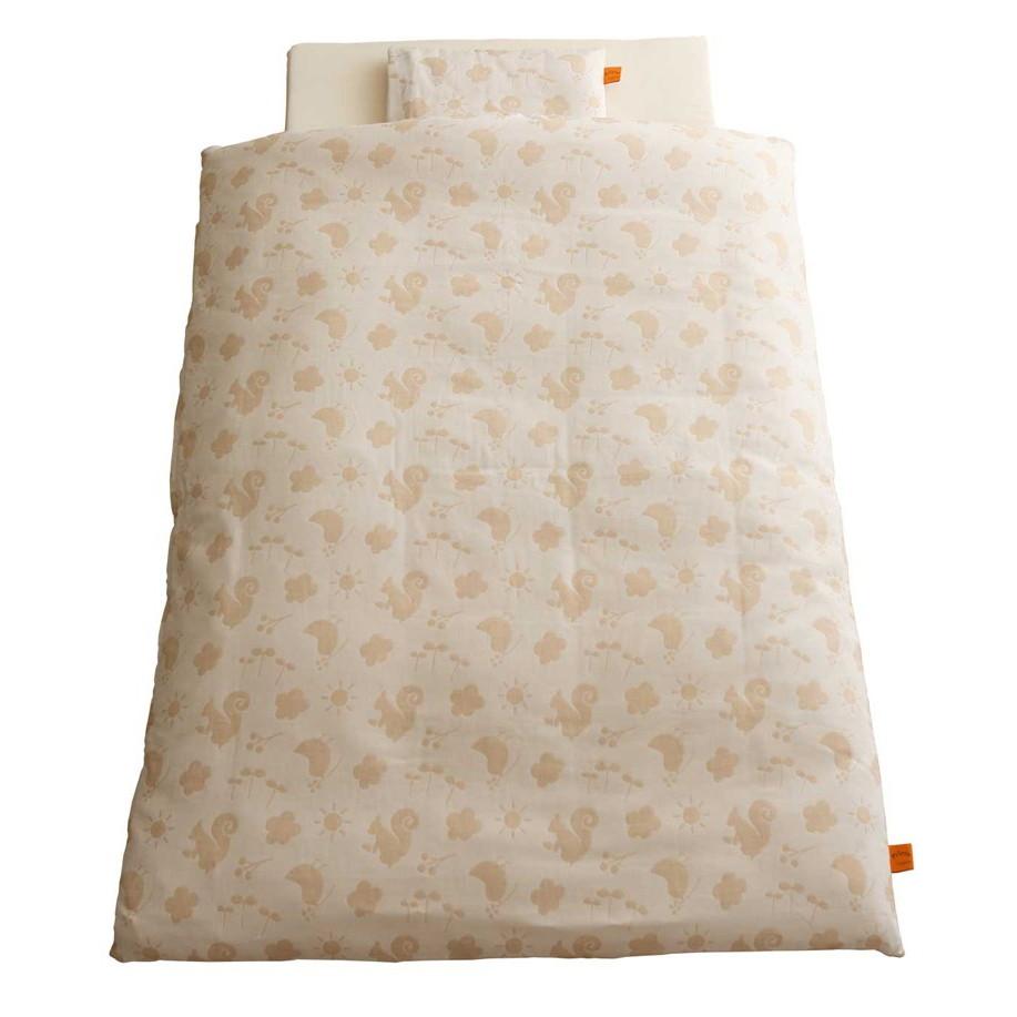 baby.e-sleep(ベビーイースリープ) プリエール コパン ロイヤル ベビーふとん11点セット (オーガニックコットンダブルガーゼ)