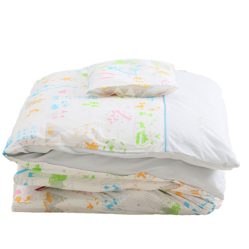 baby.e-sleep(ベビーイースリープ)×baby toi(ベビートーイ) baby book fu fu colorful ベビーふとん10点セット
