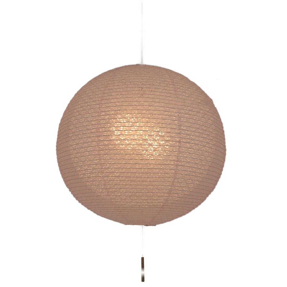日本製 和紙照明 2灯ペンダントライト 二重提灯 SPN2-1100 bud 電球別売 小梅ピンクin小梅白