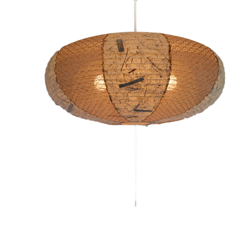 日本製和紙照明 楕円型 4灯ペンダントライト SPN4-1071 island ツインバナナ