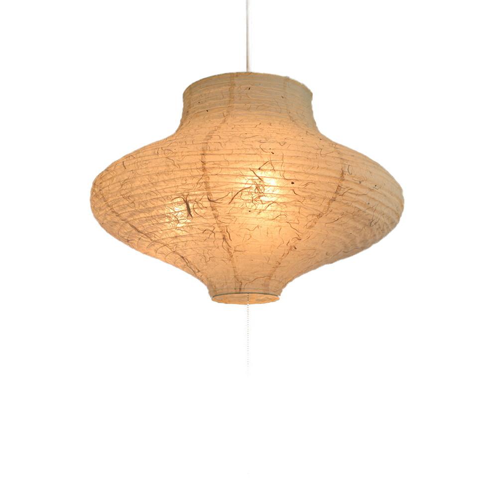 日本製 和紙照明 3灯ペンダントライト SPN3-1065 vase 電球別売 落水雲龍