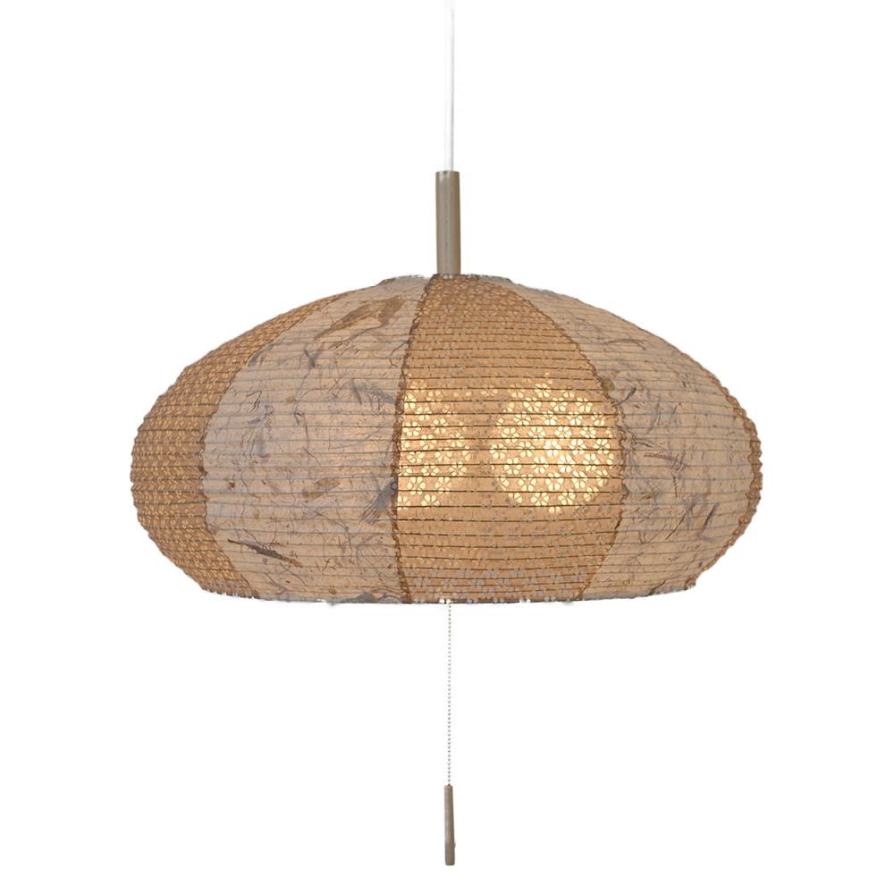 日本製和紙照明 3灯 ペンダントライト SPN3-1019 ツインバナナ 電球別売