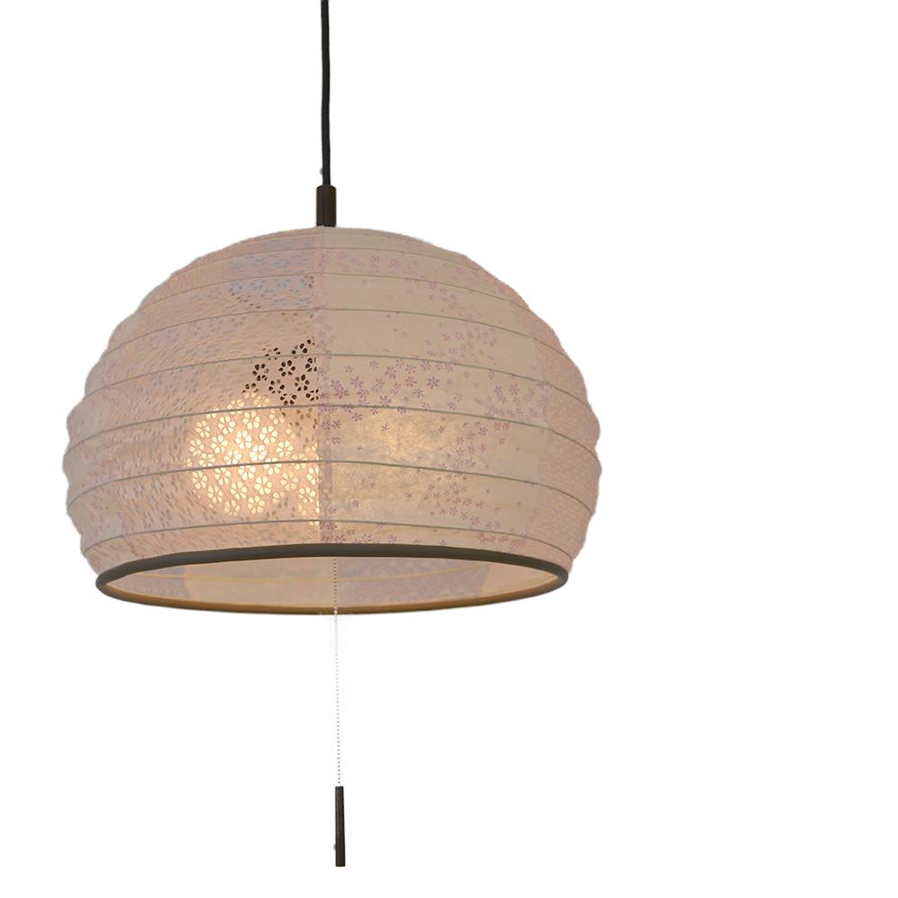 和風照明 3灯 ペンダントライト