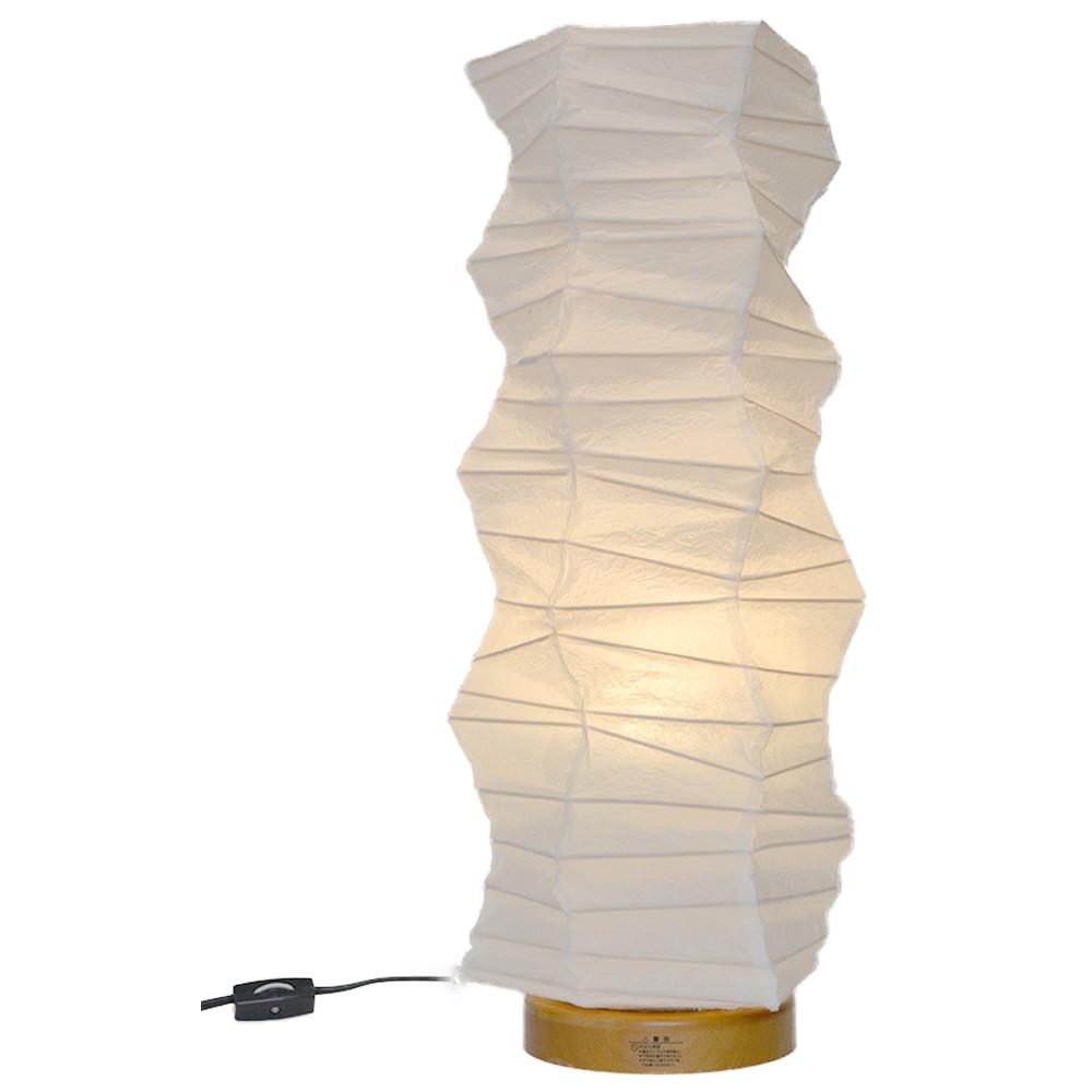 日本製 和紙照明 SS-3081 boko 揉み紙白