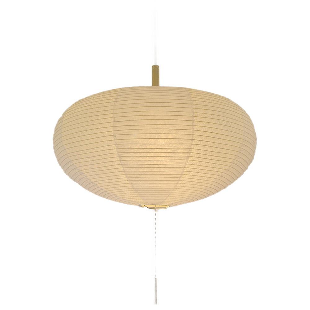 日本製 和紙照明 2灯ペンダントライト SPN2-1017 koma 電球別売 揉み紙N×麻葉白