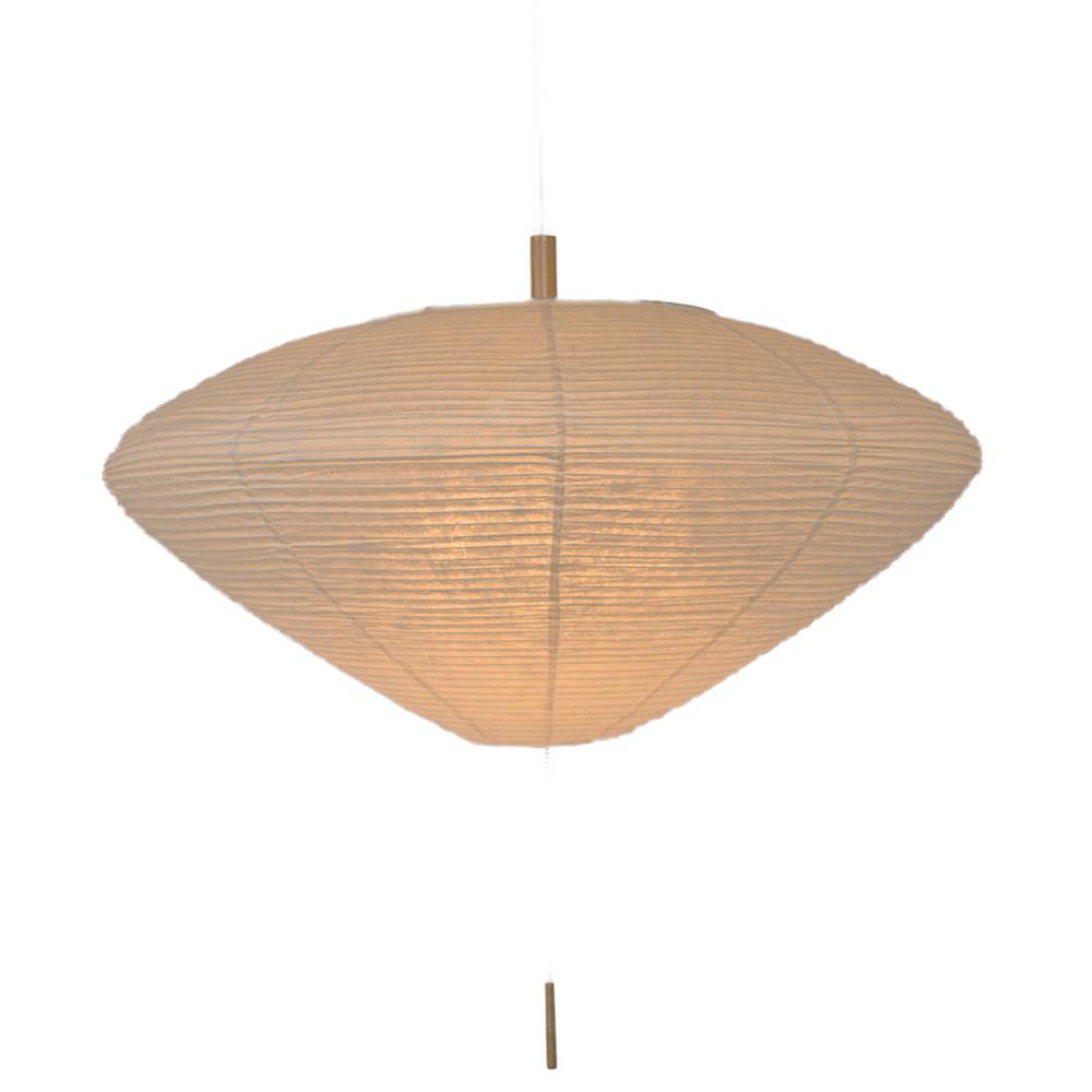 日本製 和紙照明 3灯ペンダントライト SPN3-1089 linger 楮紙茶