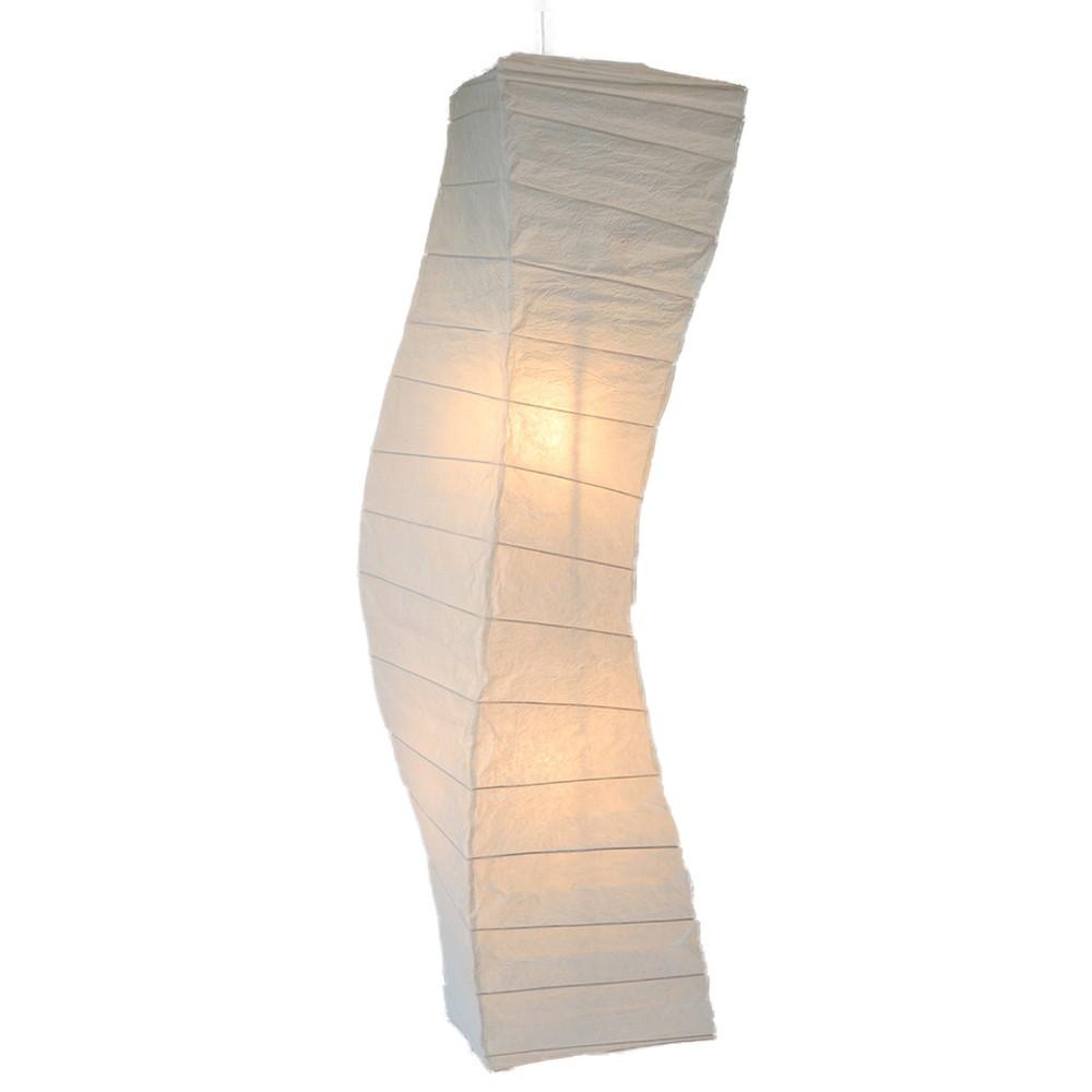 日本製 和紙照明 ペンダントライト SDPN-202 flow 揉み紙