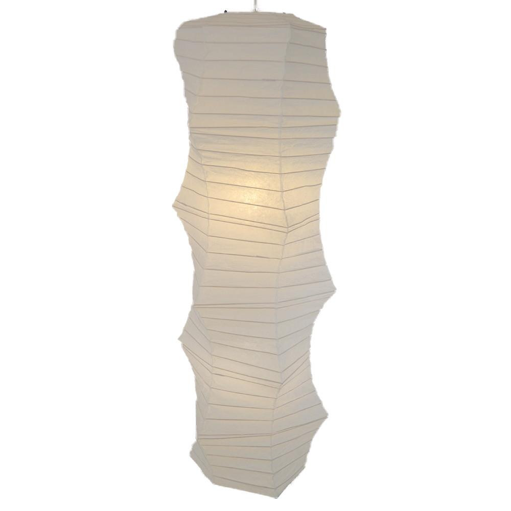 日本製 和紙照明 吹き抜け用ペンダントライト SDPN-207 kanabo 揉み紙