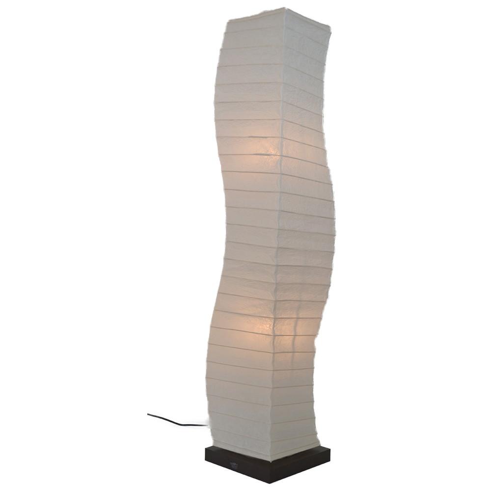 日本製 和紙照明 フロアランプ SF-2068 warp 揉み紙
