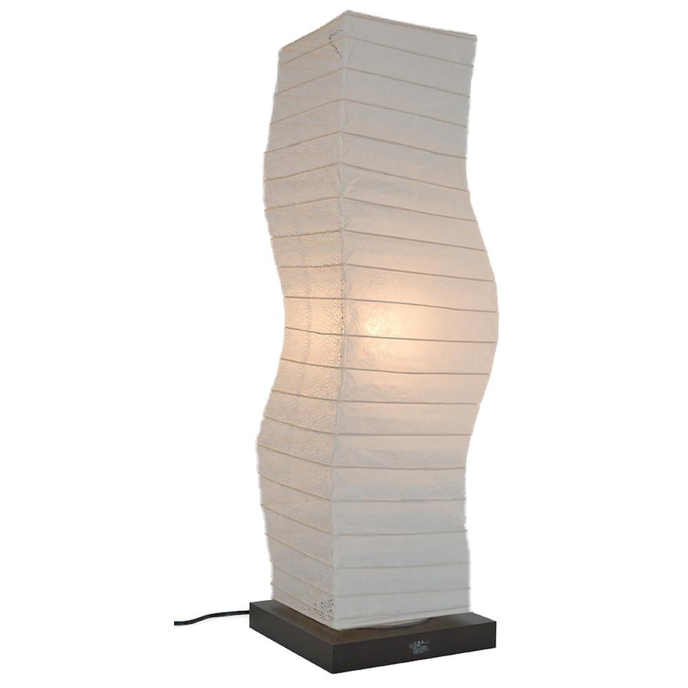日本製 和紙照明 フロアランプ SF-2071 kuku 揉み紙×麻葉白