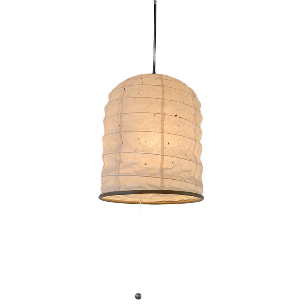 日本製 和紙照明 1灯 ペンダントライト SPN1-1097 yama 電球別売 によど川粕