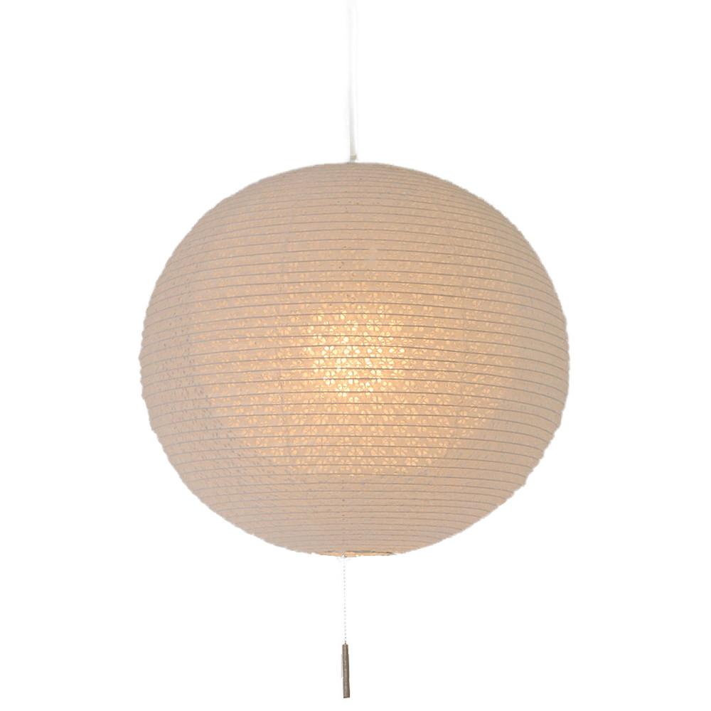 日本製 和紙照明 1灯ペンダントライト 二重提灯 SPN1-1107 bud 電球別売 小梅白in小梅白