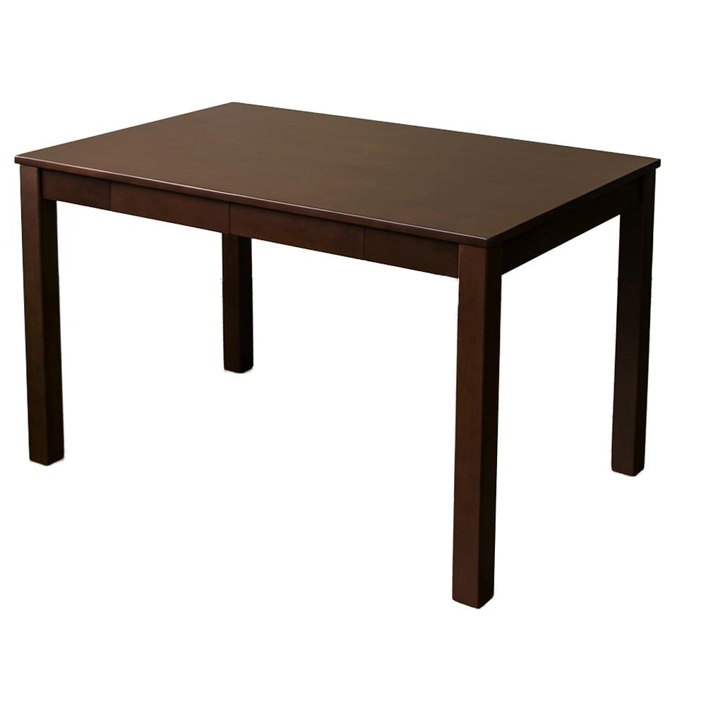 引き出し付き フリーテーブル 110×70cm ブラウン