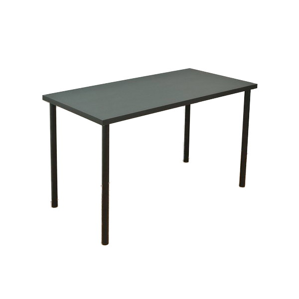 フリーテーブル 幅120cm×奥行き60cm ブラック