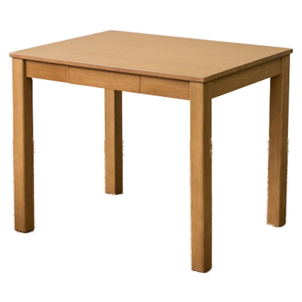引き出し付 フリーテーブル 85×65cm ナチュラル