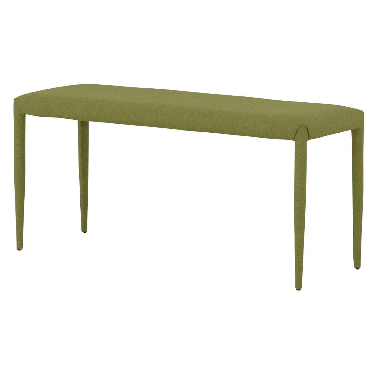 LUTINA ルティナ ダイニングベンチ 2人掛けサイズ 100cm幅 グリーン