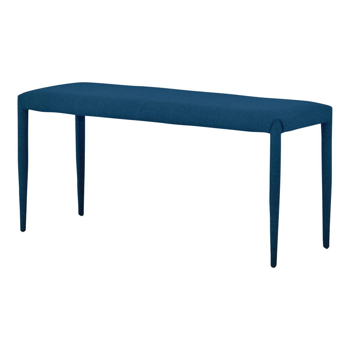LUTINA ルティナ ダイニングベンチ 2人掛けサイズ 100cm幅 ブルー