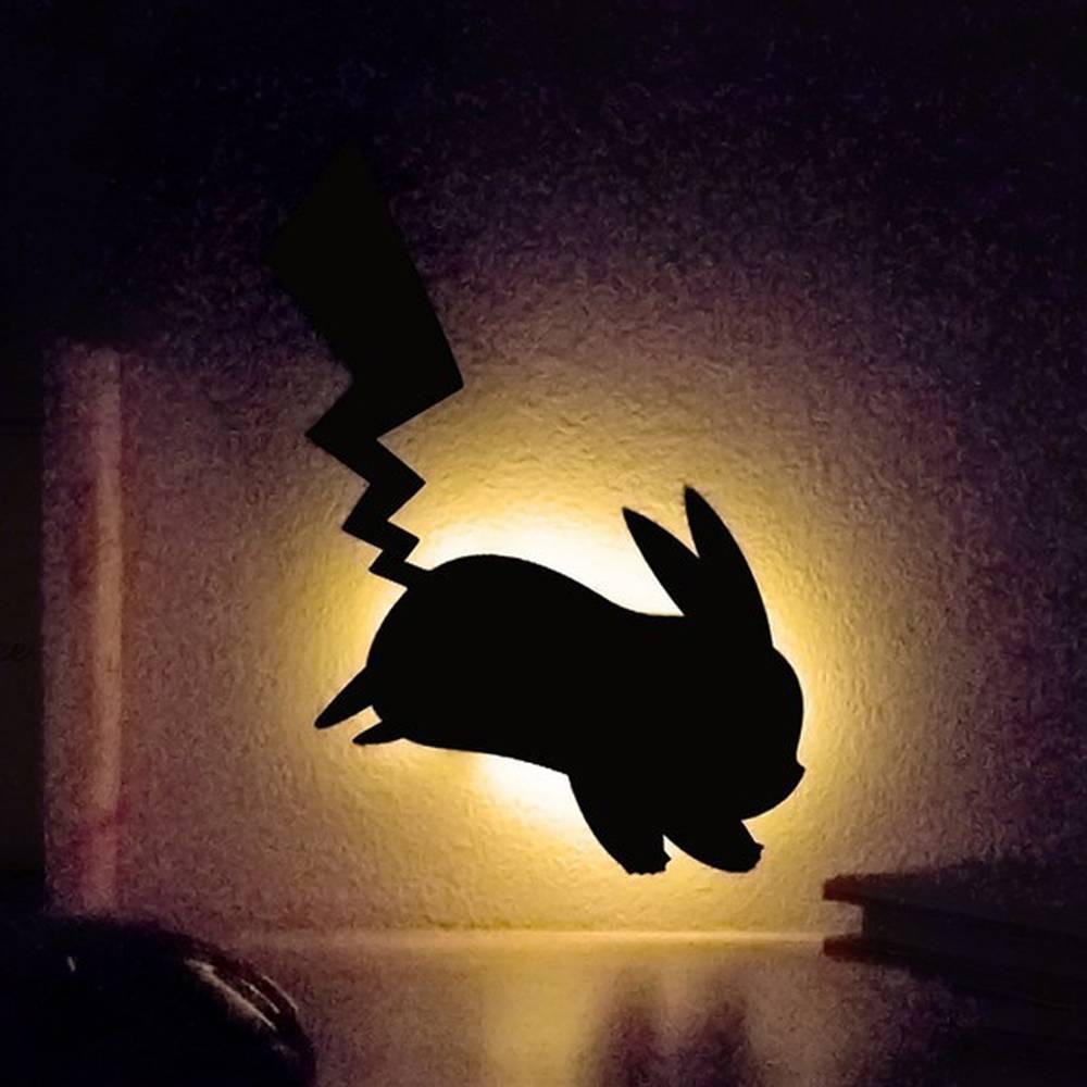 LEDライト Pokemon Wall Light ピカチュウ はしり ウォールライト