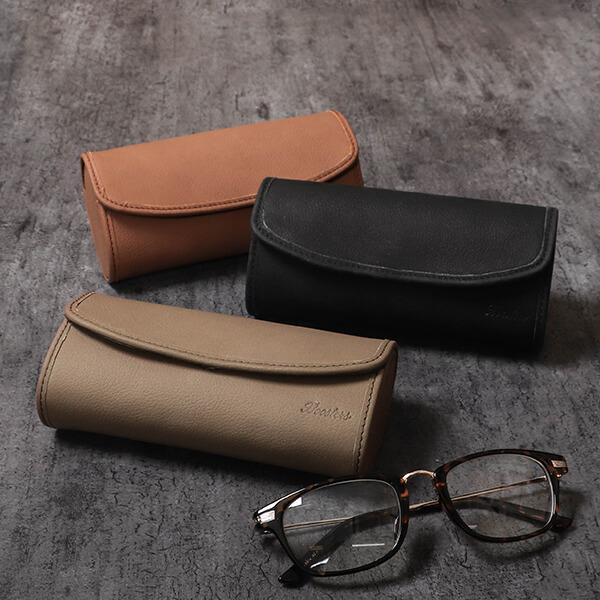 落ち着いた色合いの本革のメガネケース。ハードタイプのメガネケースで持ち運びが多い方にも自信を持っておすすめできるメガネケース。ギフトラッピング即対応。 メガネケース プレゼント ギフト 名入れ 名前入れ 眼鏡ケース ハード 大きいサイズ メンズ レディース 本革 革 皮 レザー サングラスケース めがねケース ハードケース ノートンレザー おしゃれ ブースターズ Boosters