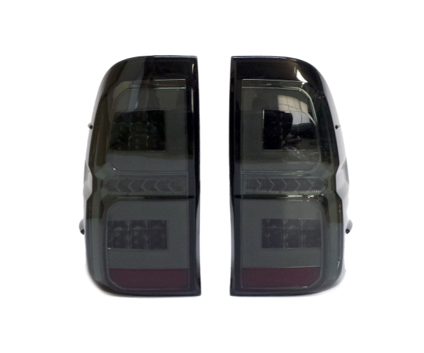 トヨタ GUN125 ハイラックス用 LEDテールランプ ファイバー チューブ シーケンシャル ドレスアップ REVO レボ ピックアップトラック