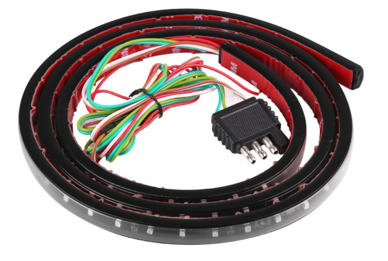 取り付けかんたん 60インチ LED テープ ピックアップトラック リアゲート用 連動 ウィンカー ブレーキ ハイラックス 正規品送料無料 ダットサン 今ダケ送料無料