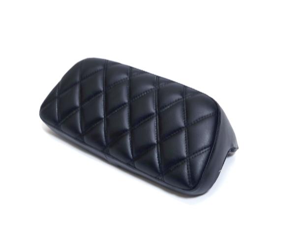 ハーレー ツーリング ツアラー ツアーパック バックレストパッド お金を節約 FLHX ダイヤモンドステッチ レイザー 物品 ストリートグライド FLTRX FLHR