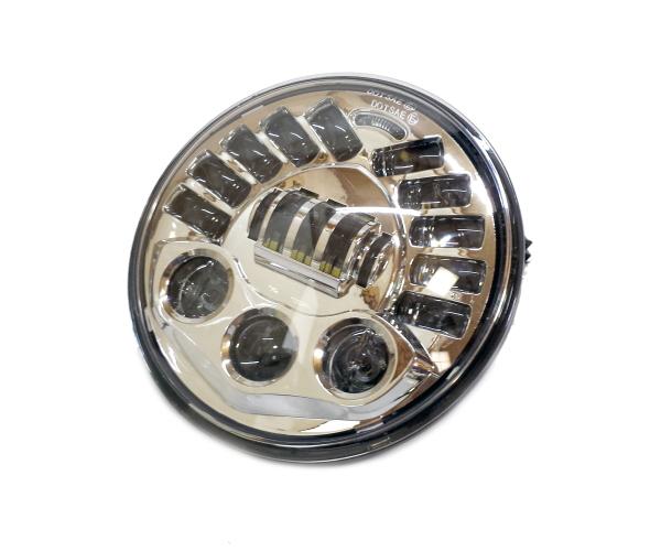 ハーレー用 7インチ LED ヘッドライト バンクセンサー内蔵 傾斜角に反応し発光 ヘッドランプFLHXS バガー ウルトラ ストリートグライド