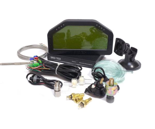 マルチディスプレイ ブースト水温油温油圧A/F排気温等! S13S15S14R32R33R34JZX90JZX100JZX110 Z33FD3Sマフラー デジタルメーター