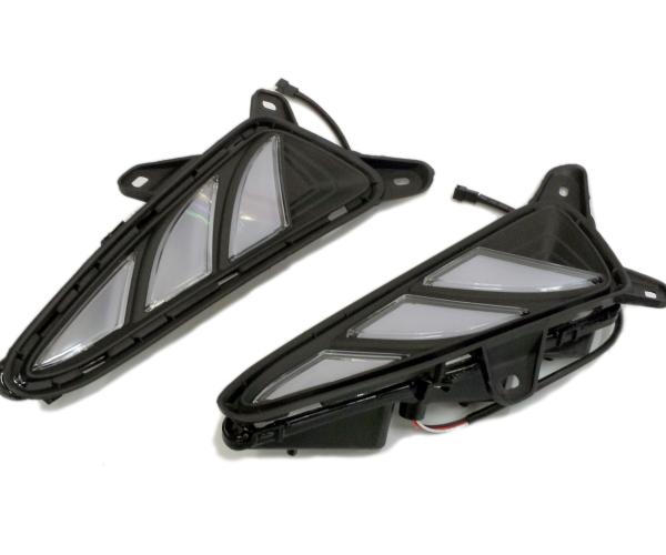 トヨタ ZYX10/NGX50 C-HR デイライト LED ウインカー連動タイプ ホワイト/イエロー切り替えマーカー CHR ドレスアップ 左右2個セット