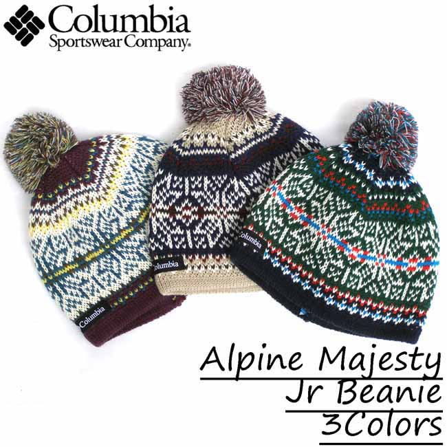 383ea092 Columbia / Colombia kids, junior and children's hat with knit Cap Alpine  majestijuniorbyney all three Alpine Majesty Jr Beanie 3Colors Columbia / ...