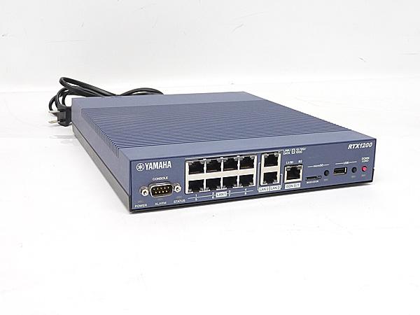 メーカー:YAMAHA 発売日:2008年10月 #最新FW 10.01.78 サービス YAMAHA ヤマハ RTX1200 オープニング 大放出セール 中古 送料無料 VPNルーター ギガアクセス