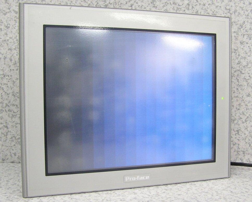 □■Pro-face/シュナイダーエレクトリック 10.4型タッチパネルモニター プログラマブル表示器 AGP3500-T1-D24 動作良好!初期化済み 【中古】