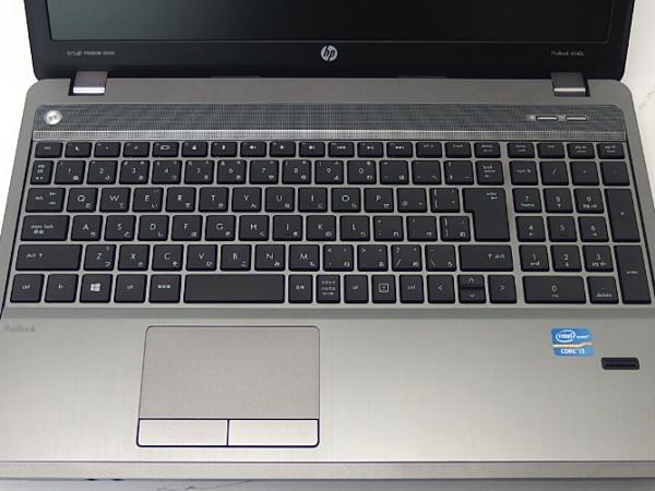 HP ProBook 4540s/ リカバリ付 無線LAN/ DVDMulti/ 【中古】 Core i3 3110M/15.6ワイドHD液晶/4GB/320GB/ キズ有りですが綺麗/ Win10すぐ使えます/ □■α