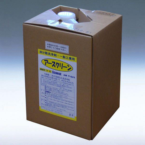 油分散洗浄剤 Ecoest アースクリーン20L T041