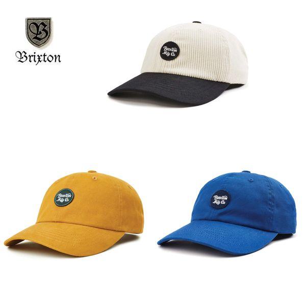 BRIXTON/ブリクストン WHEELER CAP/キャップ・3color