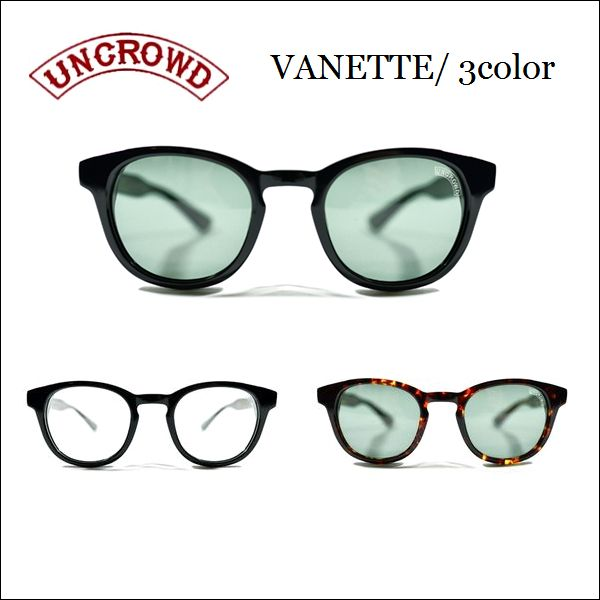 UNCROWD/アンクラウド VANETTE/サングラス・シェード 3color