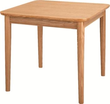 ダイニングテーブルモタナチュラル・ブラウンコンパクトサイズ W75×D75×H64
