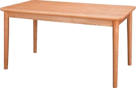 ダイニングテーブルモタナチュラル・ブラウンサイズ W130×D75 H64