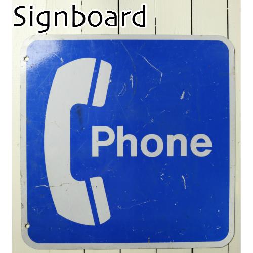 フランス雑貨 アンティーク 電話 テレホン 看板 サインボード ディスプレイ DIY