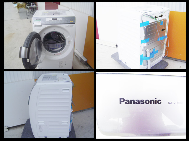 [二手货]松下微型鼓/洗衣烘干机NA-VD100L 6.0kg 2011年制造