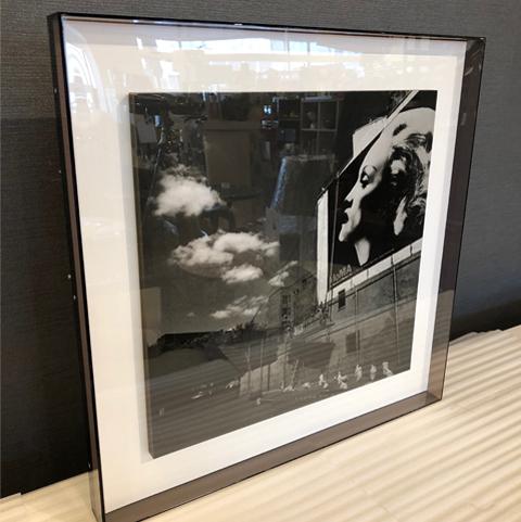 [中古]★モデルルーム展示品★現代アートMoma500×50×500mmインテリア雑貨アートモダンアートアートパネル