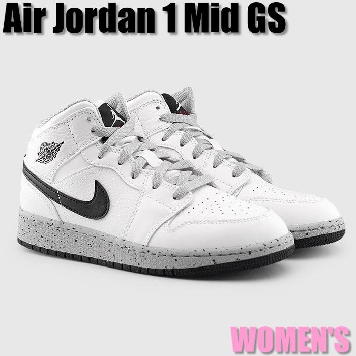 promo code cfc44 3d30b The kids model women gap Dis sneakers which Nike Air Jordan 1 Mid GS White  Pure Platinum Nike Air Jordan 1 ミッドホワイトプラチナム 554,725-115 adult can wear